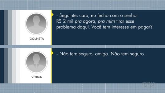 Família que teve carro roubado é vítima de golpe após relatar roubo em rede social em Curitiba