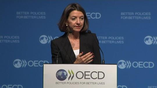 OCDE reduz previsão de crescimento da economia global