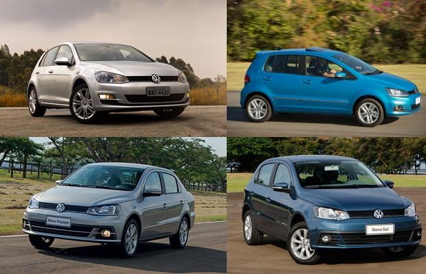 Modelos e versões que a Volkswagen tirou da linha nos últimos meses (Foto: Autoesporte)