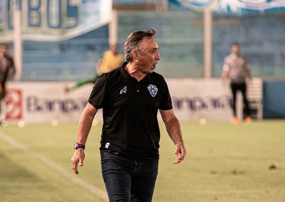 Roberto Fonseca, técnico do Paysandu — Foto: John Wesley/Paysandu