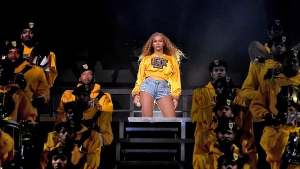 Beyoncé no Coachella (Foto: Larry Busacca / Getty Images)