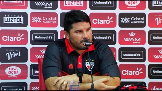 Eduardo Barroca chega ao Atlético-GO com foco total no acesso