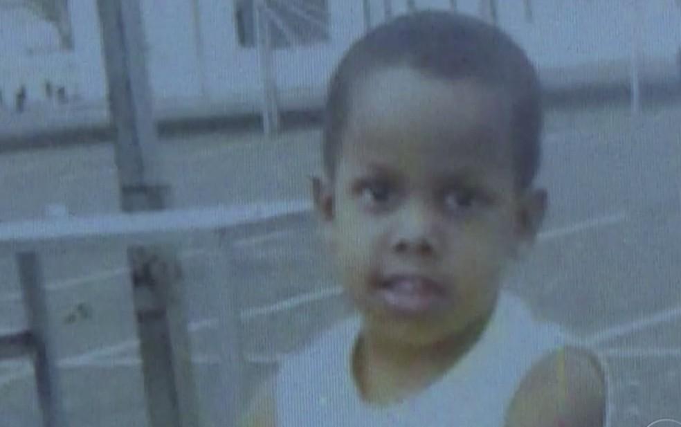 Matheus Felipe dos Santos tinha 5 anos. (Foto: Reprodução/TV Globo)