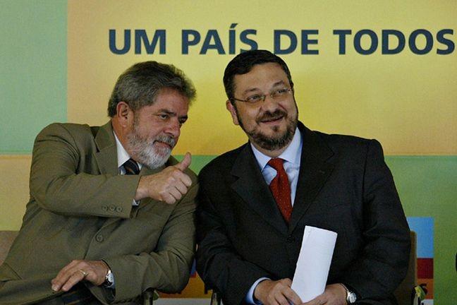 Lula e Antonio Palocci (Foto: Divulgação)