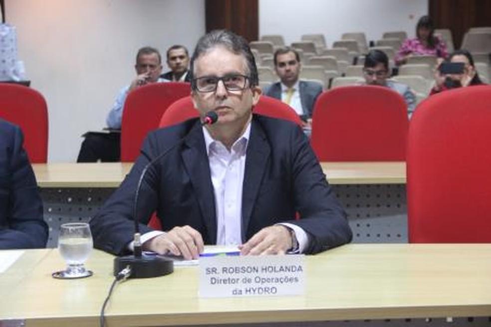 -  Diretor de operações decidiu, junto a outros três diretores, despejar efluentes de refinaria em rios do Pará.  Foto: Reprodução / Alepa