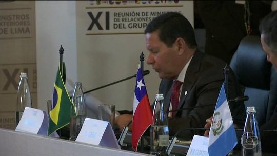 Grupo de Lima se reúne em Bogotá para discutir crise da Venezuela