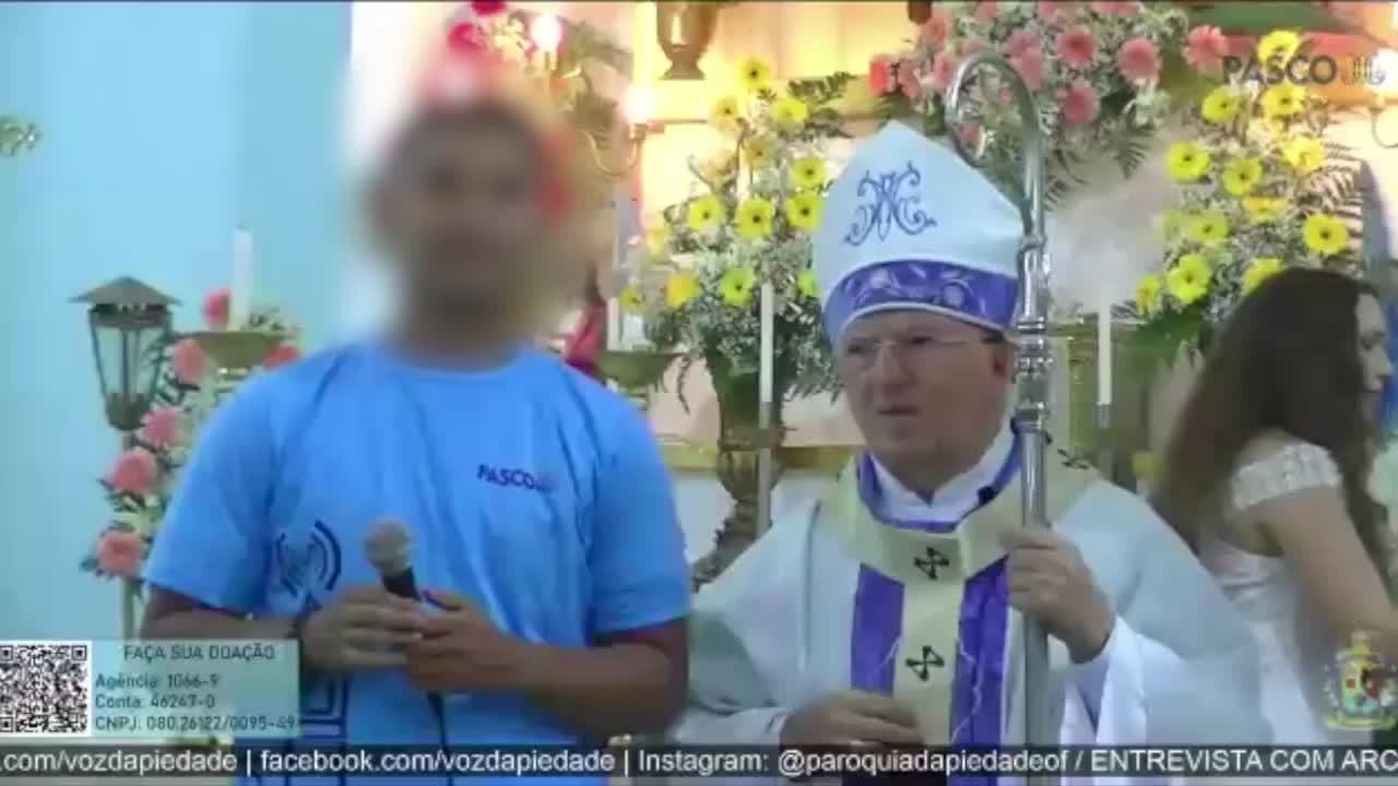 Arcebispo de Natal se recusa a dar entrevista e vídeo viraliza; padre pede desculpas