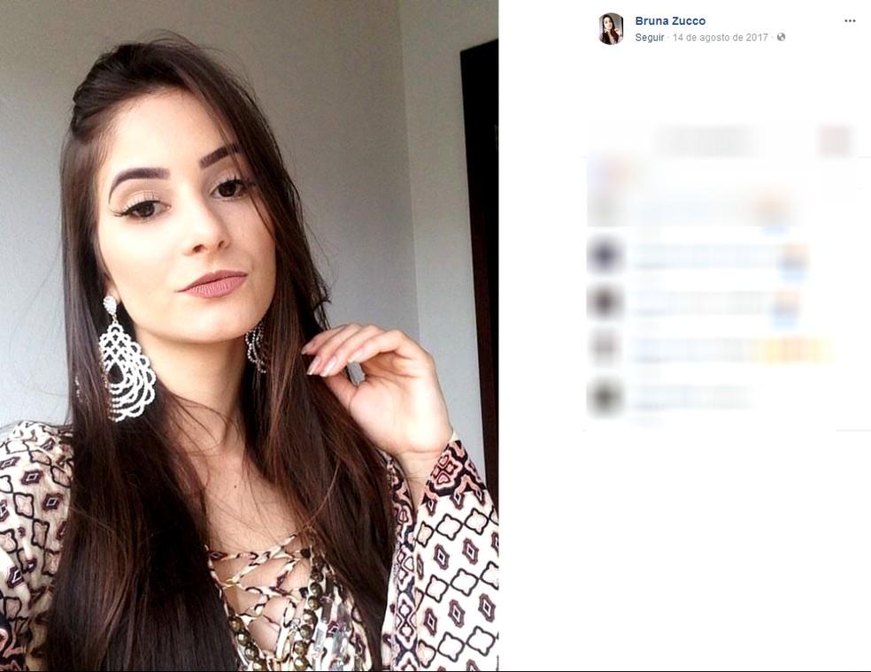 Miss Altônia, Bruna Zucco, desapareceu na madrugada de quinta-feira (22). (Foto: Reprodução Facebook)
