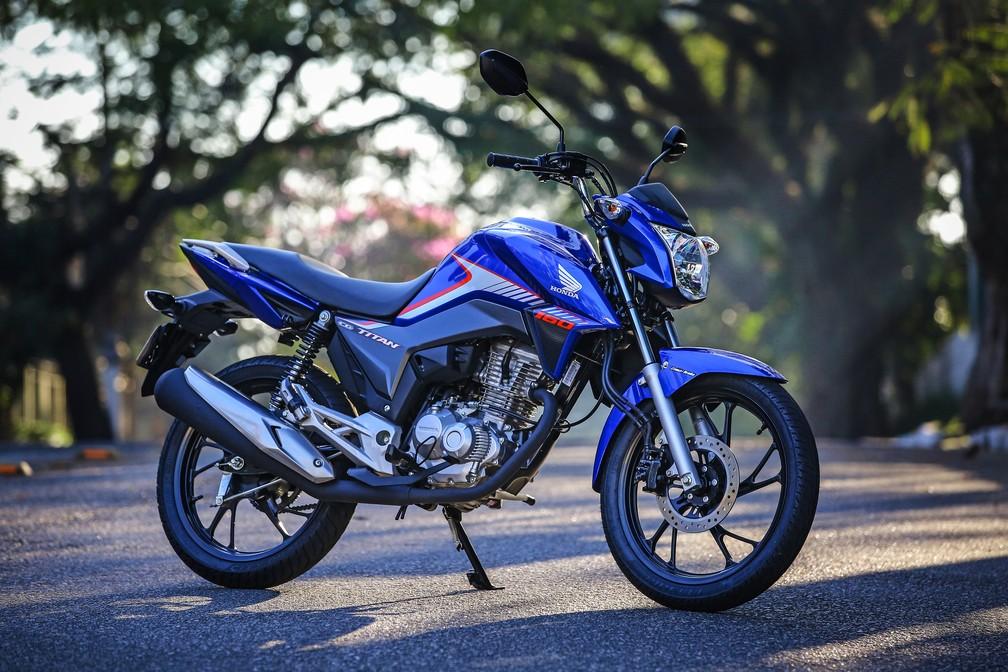 Honda CG 160 Titan 2018 (Foto: Divulgação)