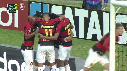 """Guto Ferreira elogia """"poder de adaptação"""" do Sport com forte vento e defende Mailson"""