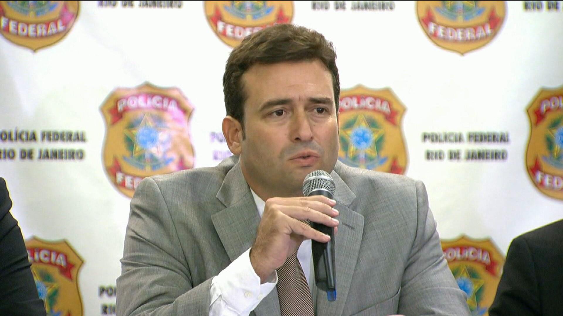 Tácio Muzzi é nomeado como superintendente da Polícia Federal no Rio