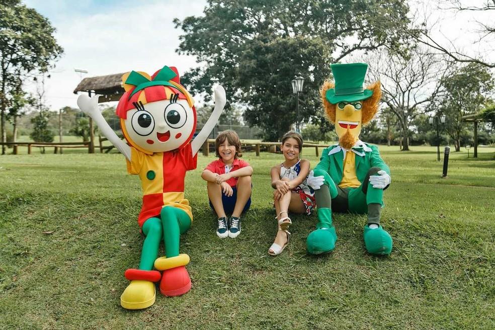 Os personagem de Monteiro Lobato divertem crianças e adolescentes no Espaço Sítio do Pica Paulo Amarelo no Mabu Thermas Grand Resort (Foto: Divulgação)
