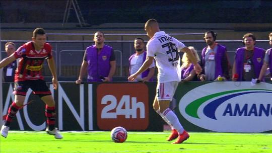 São Paulo 2 x 1 Ituano: veja os melhores momentos