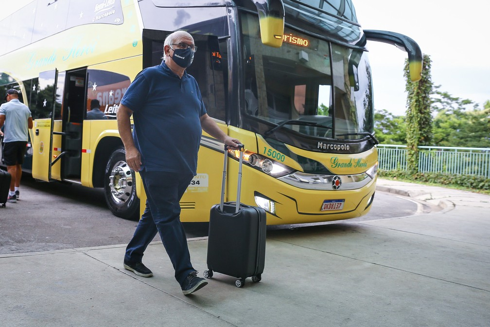 Romildo Bolzan Júnior garante reformulação com competições em andamento — Foto: Lucas Uebel / Grêmio FBPA