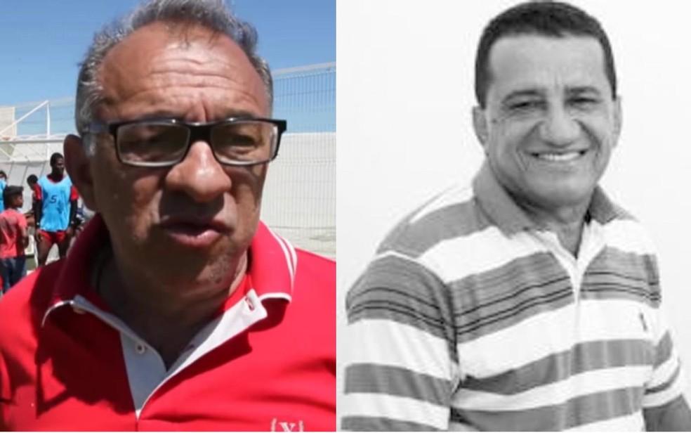 Ex-prefeito Celso Silva e Souza e presidente da Câmara, Cândido Francelino de Almeida, estão entre os denunciados (Foto: Reprodução/ Youtube e Divulgação/TSE)