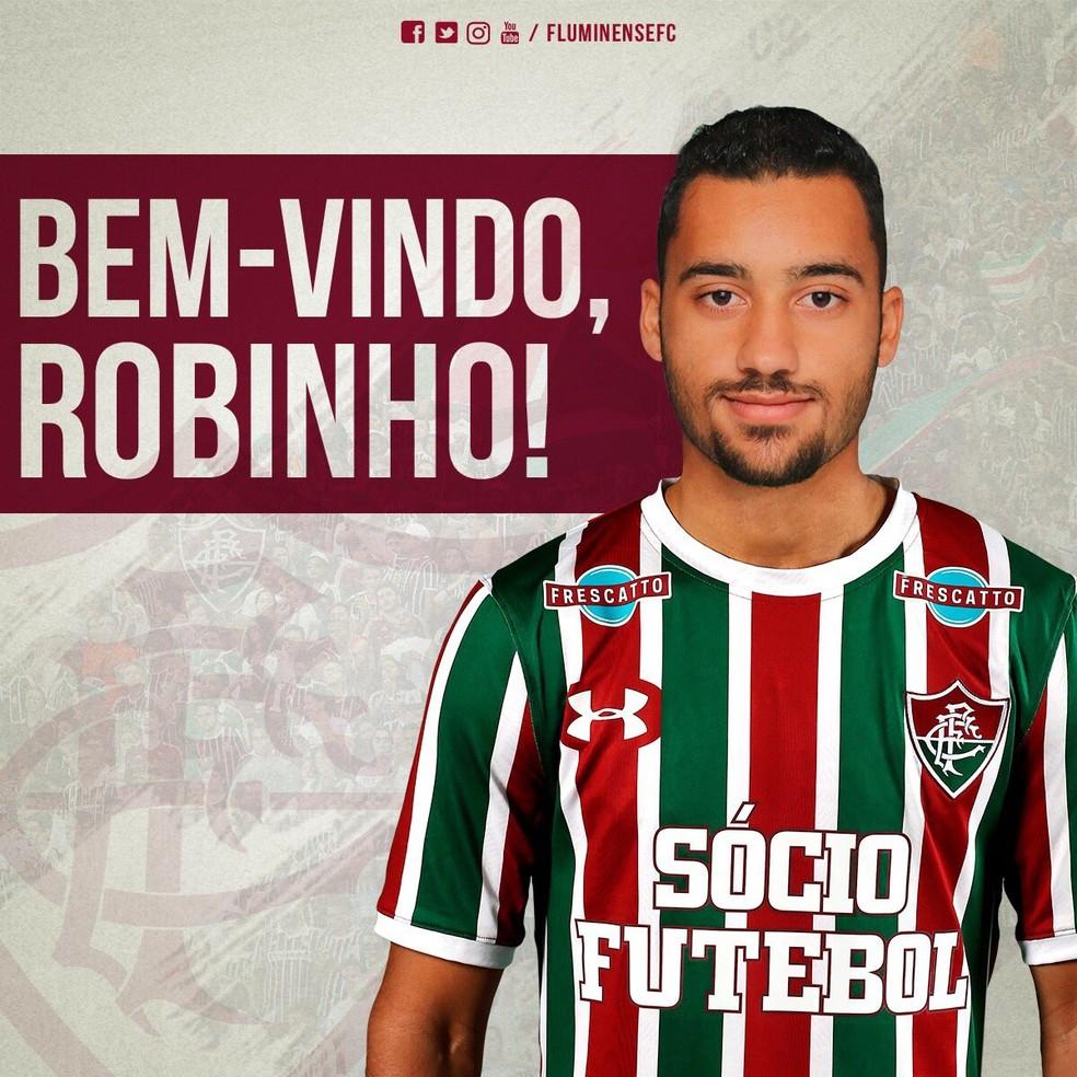 Fluminense confirma contrata§£o de Robinho e anuncia Richard do