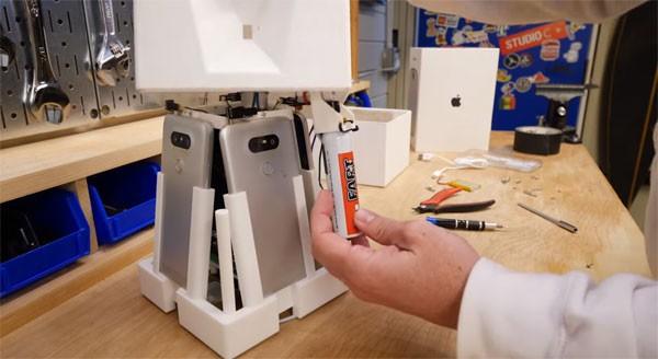 O dispositivo desenvolvido por Mark (Foto: reprodução)