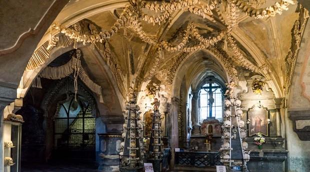 """Museu dos ossos é atração para quem tem """"estômago""""  (Foto: Reprodução)"""