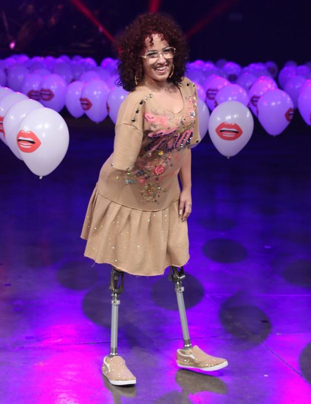 Desfile de moda em prol da inclusão (Foto: Thiago Duran/AgNews)
