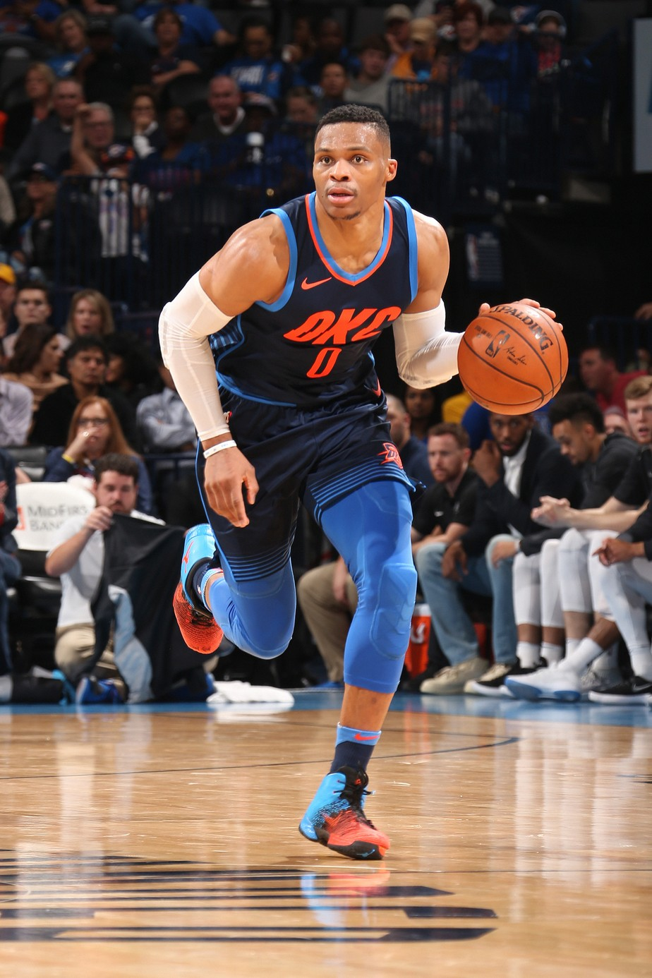 Thunder sofre em casa, mas Westbrook garante triunfo contra