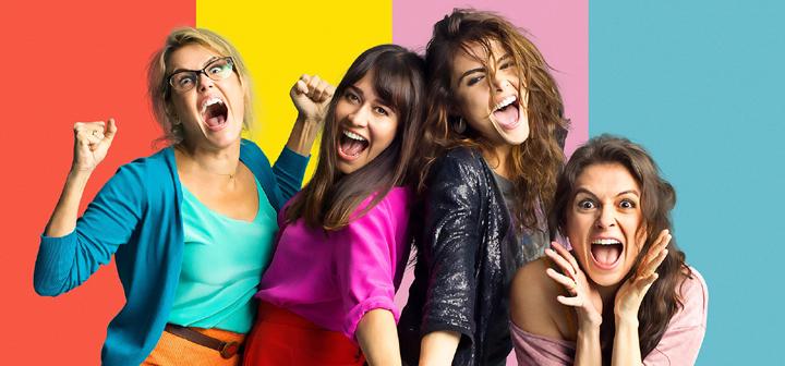 As mulheres alteradas Debora Secco, Alessandra Negrini, Maria Casadevall e Monica Iozzi (Foto: Ariela Bueno)