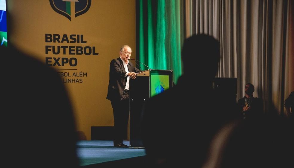 Walter Feldman, secretário-geral da CBF — Foto: Tatiana Korps/Divulgação