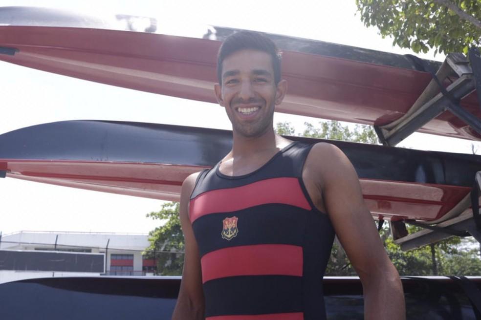 Emanuel Borges começou em Natal, em 2005, e mora no Rio de Janeiro desde 2011 — Foto: Divulgação/Flamengo