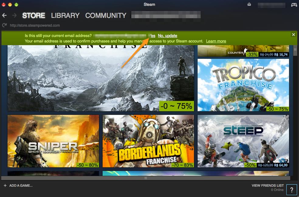 Como adicionar amigos no Steam de graça sem comprar jogos
