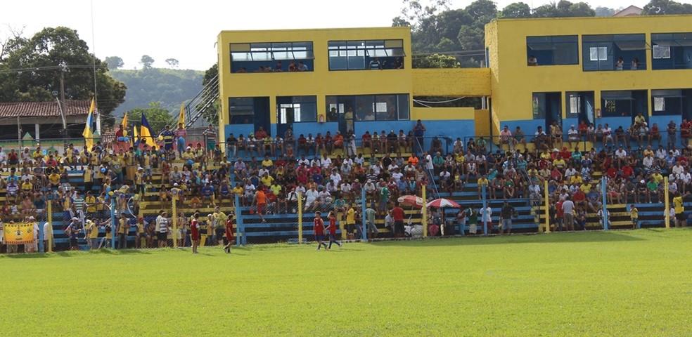 Estádio Zeca Costa, onde a Araguaia manda seus jogos — Foto: Olímpio Vasconcelos