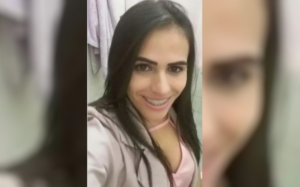 Shirley Gonçaves da Silva é morta com um tiro em Aparecida de Goiânia — Foto: Reprodução/TV Anhanguera