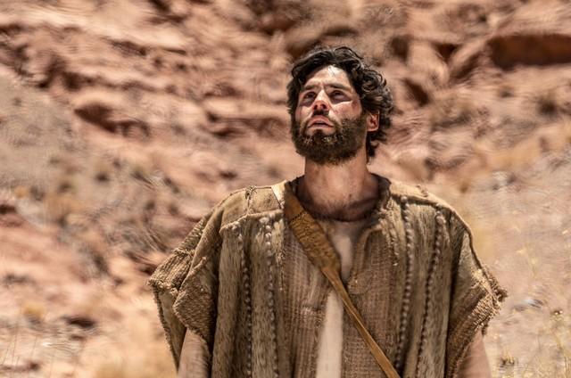 Dudu Azevedo, o protagonista de 'Jesus' (Foto: Edu Moraes/Record)