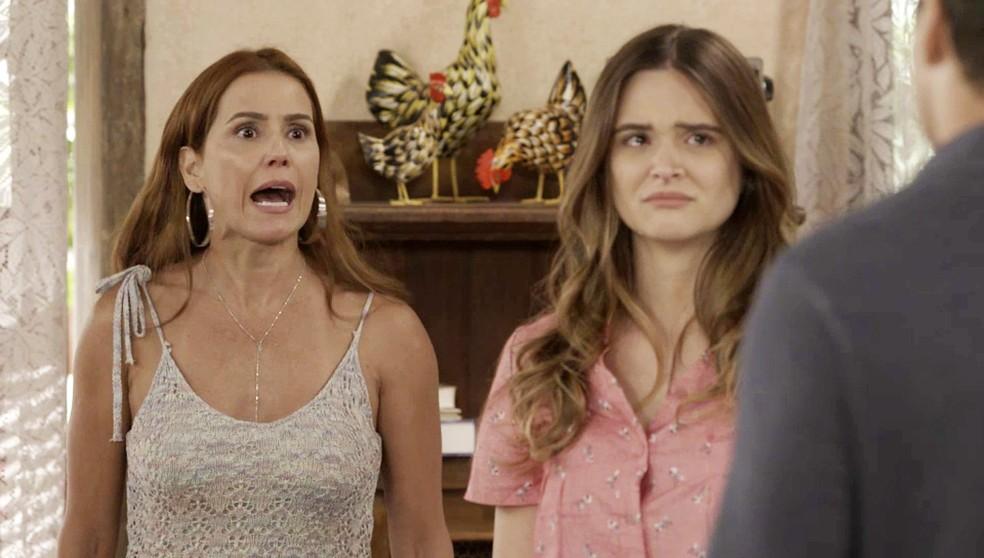 Alexia/Josimara (Deborah Secco) explode com notícia em 'Salve-se Quem Puder' — Foto: Globo