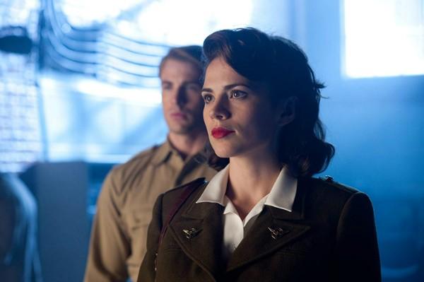 Hayley Atwell como Peggy Carter Em Capitão América: O Primeiro Vingador  (Foto: Divulgação)