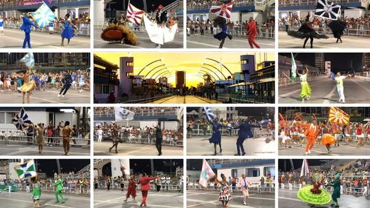 Duplas de mestre-sala e porta-bandeira do carnaval de SP reúnem histórias de amor, superação e até casamento