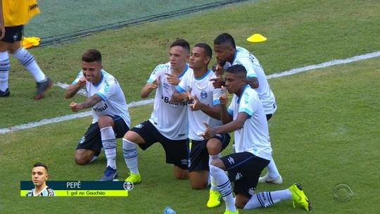 """Pepê aproveita chance com gol e mira sequência para vingar como """"novo Everton"""""""