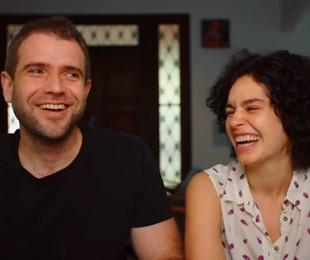 Emanuel Aragão e Maria Flor serão pais de um menino   Reprodução/Instagram