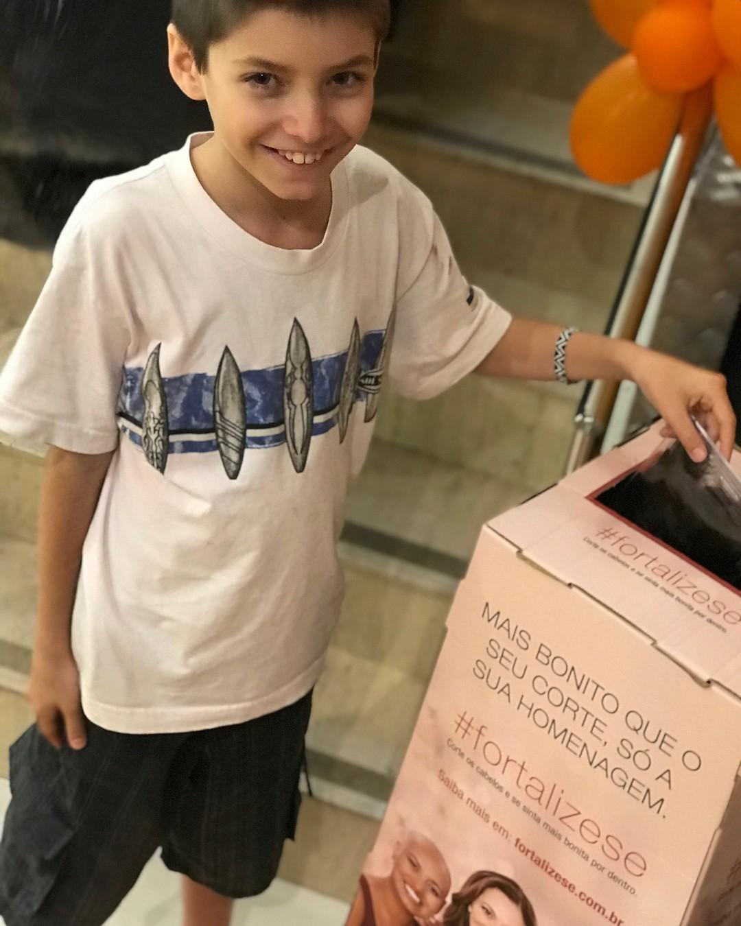 Martim, primeiro neto de Claudia Ohana (Foto: Reprodução/Instagram)