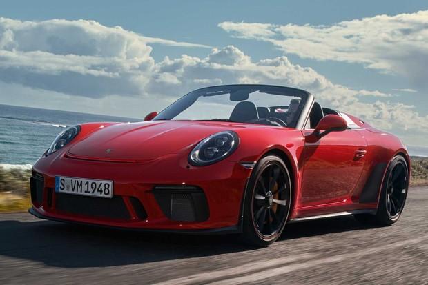 speedster (Foto: Divulgação Porsche)