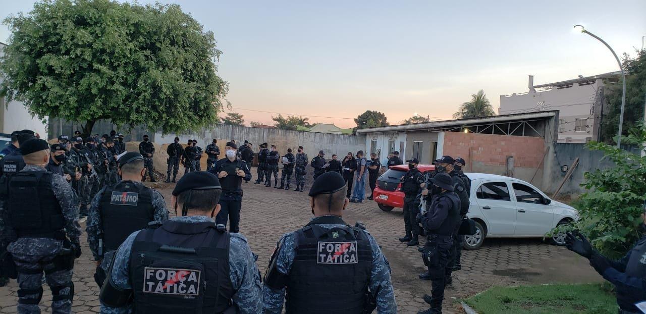 16 reeducandos são presos por violarem medidas de Justiça no Orgulho do Madeira em RO