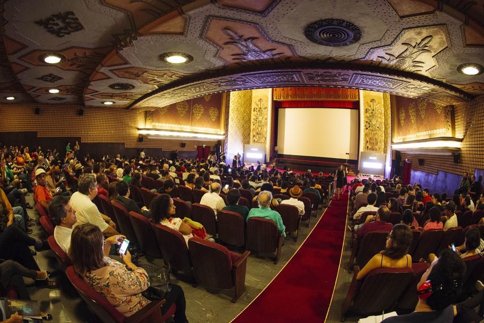 Cinema São Luiz reabre após cinco meses fechado, no Recife (Foto: Lana Pinho/Divulgação)