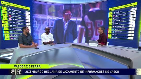 """Grafite destaca apoio da torcida para reação do Vasco: """"Muito bonito de ver"""""""