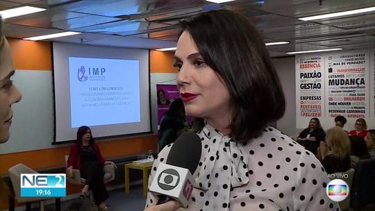 Encontro com Luiza Brunet discute violência contra a mulher; saiba onde procurar ajuda