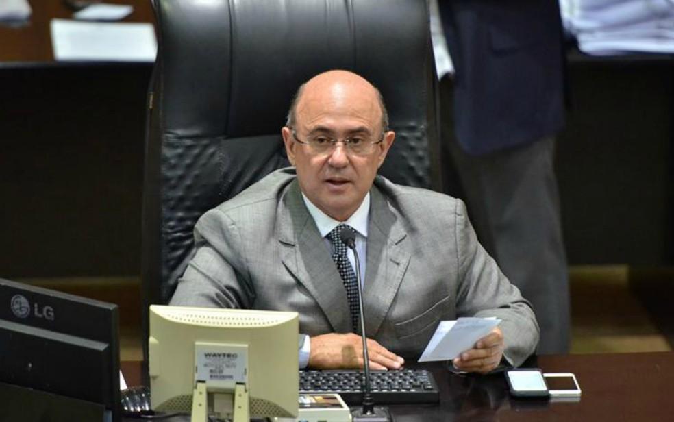 José Riva é réu em mais de 100 ações em MT — Foto: Maurício Barbant/ALMT