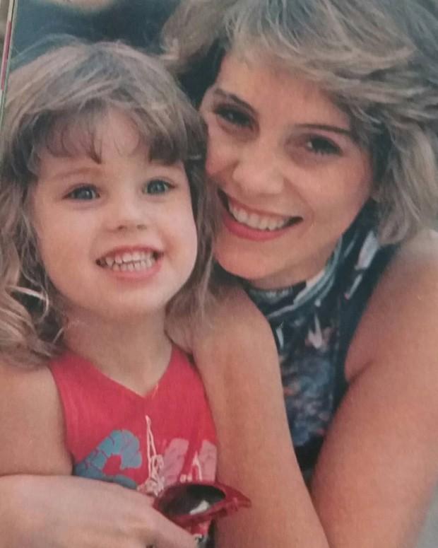 O cartaz de Eu, filme que Nicole Puzzi com a filha, Dominique (Foto: Reprodução Instagram)