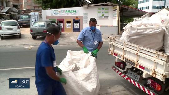 Mais de 5 mil garrafas d'água recolhidas no aulão da TV Globo são recicladas no Recife