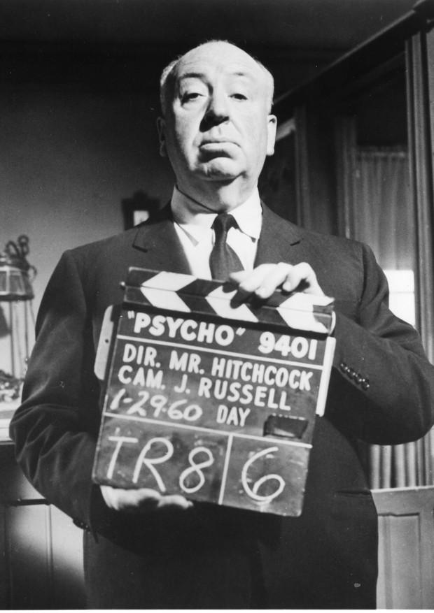 O diretor Alfred Hitchcock em retrato para divulgação do filme Psicose (1960)  (Foto: Acervo Marc Wanamaker  Bison Archives Hollywood California)