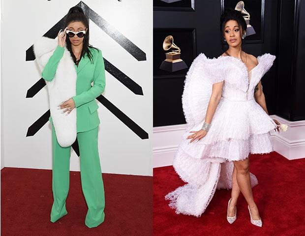 As cores marcantes e silhuetas bem modernas são outro destaque de seus looks (Foto: Getty Images)