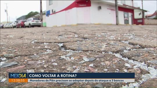 Depois do susto, moradores de Piên tentam voltar a rotina