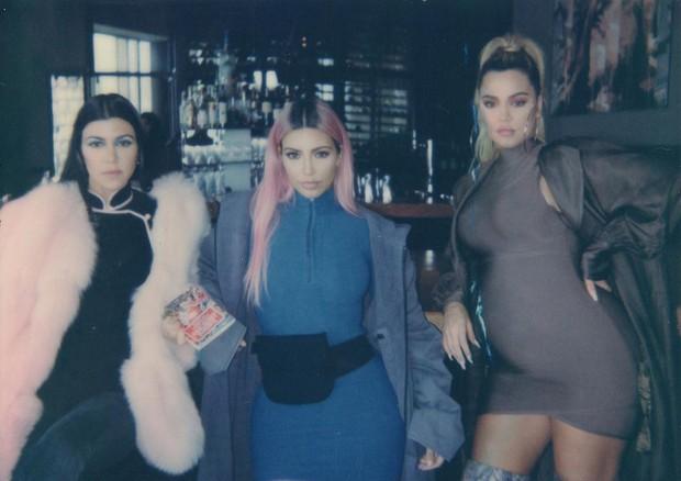 Kim Kardashian, Kourtney Kardashian e Khloe Kardashian (Foto: Reprodução/Instagram)