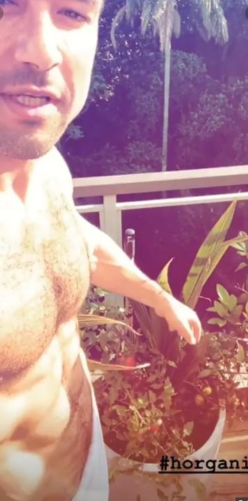 Sergio Marone em vídeo publicado no Instagram (Foto: Reprodução)